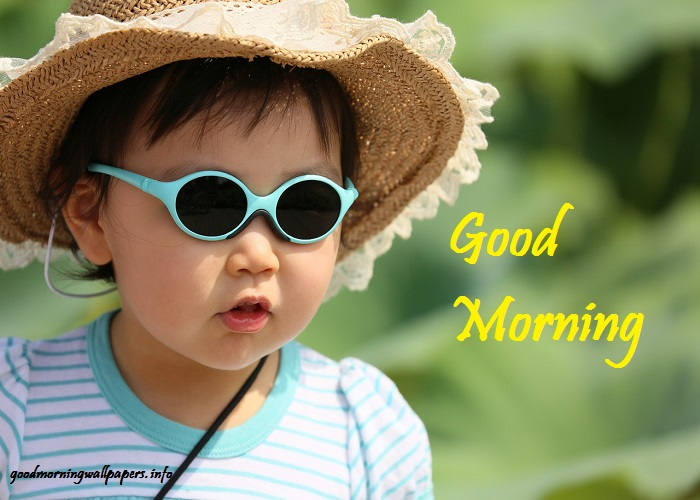 Good Morning Beautiful Baby Images