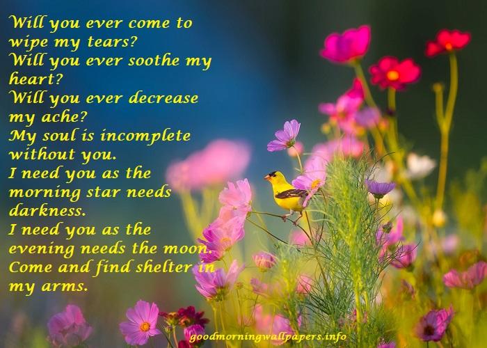 Good Morning Love Poem for Girlfriend