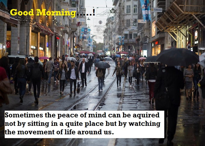 Good Morning Quotation