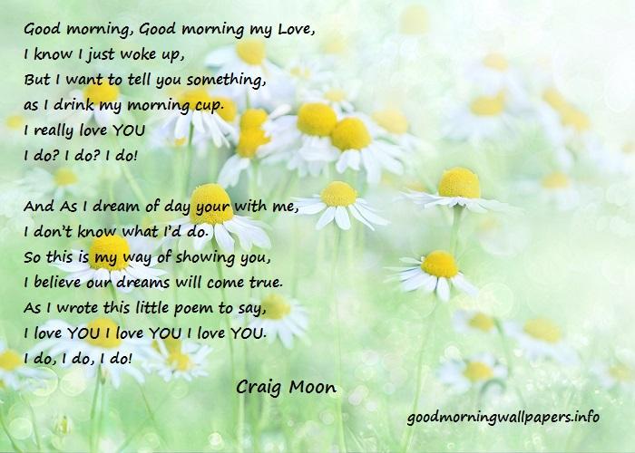 Romantic Good Morning Poem