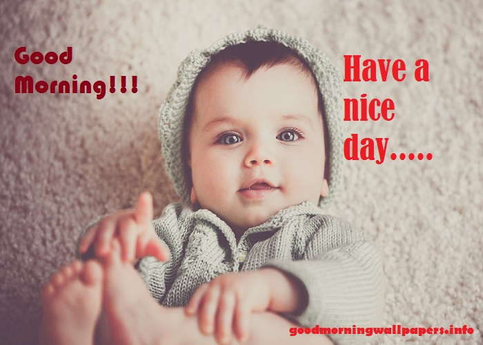 Good Morning Baby Images for Facebook