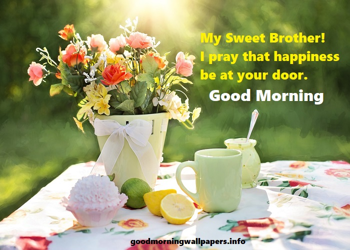 Good Morning Brother Images
