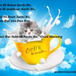 Good Morning Quotes and Messages in Urdu/Hindi