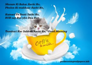 Good Morning Quotes in Urdu with Pictures