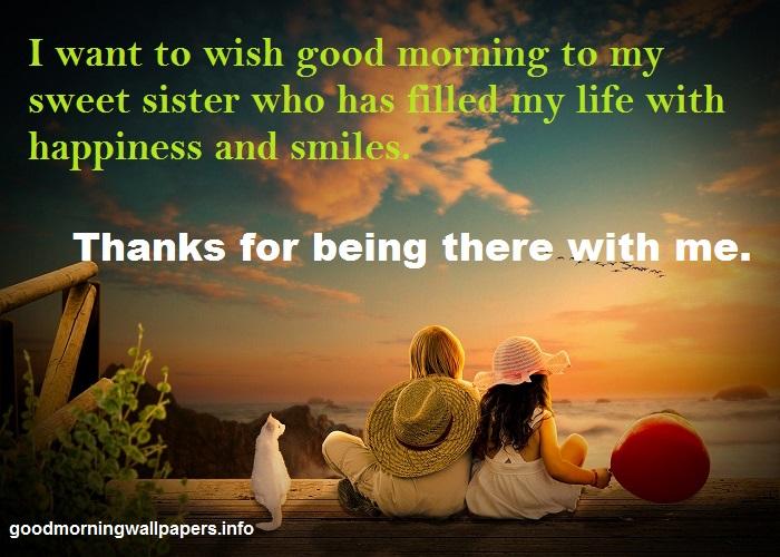 Good Morning to Sister