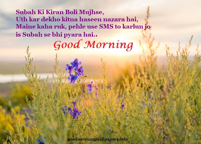 Romantic Morning Shayari