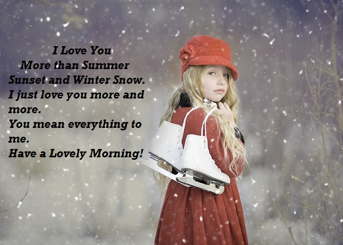 Winter Good Morning Messages