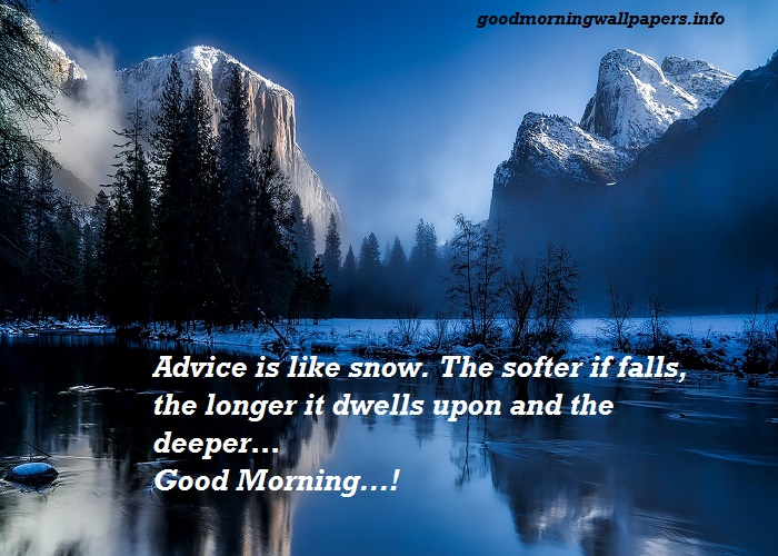 Winter Morning Quotes