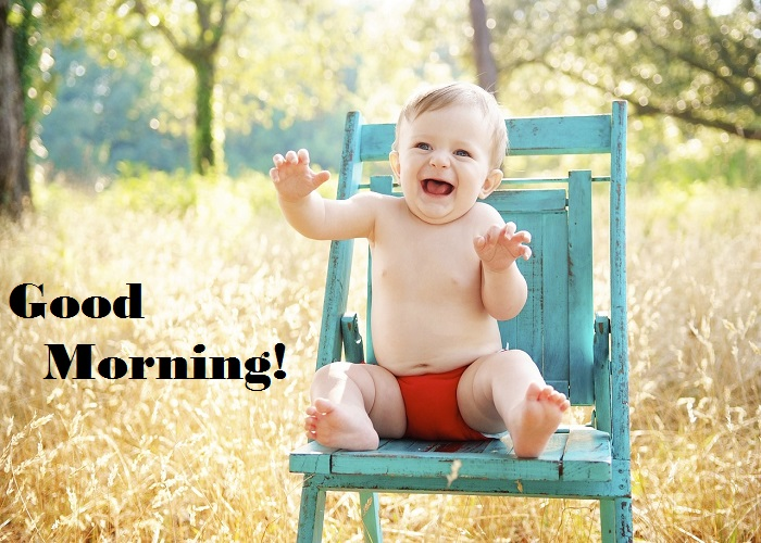 Cute Baby Funny Good Morning Images