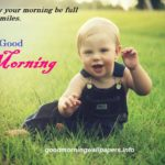 Cute Good Morning Baby Images for Facebook and Whatsapp