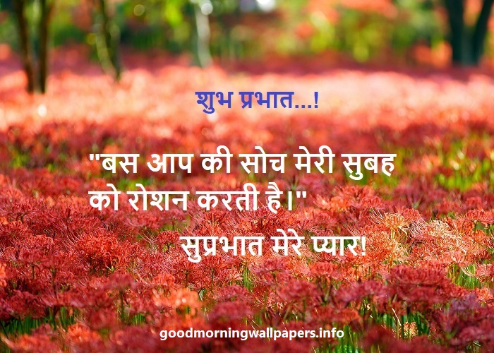 Good Morning Sms Hindi Shayari
