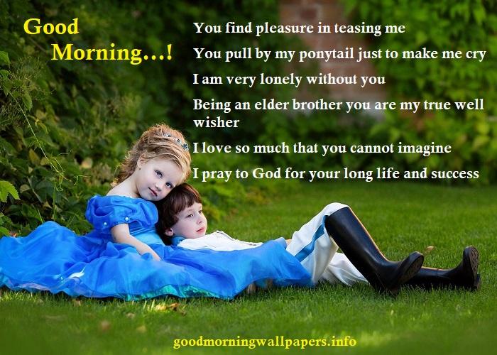 Good Morning Little Sister