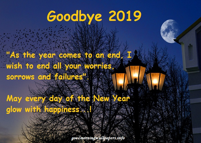 GoodBye 2019 Quotes