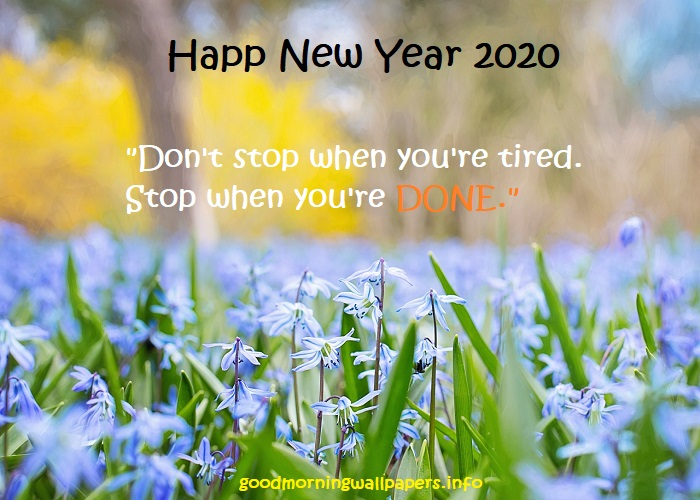 Happy New Year Wallpaper 2020
