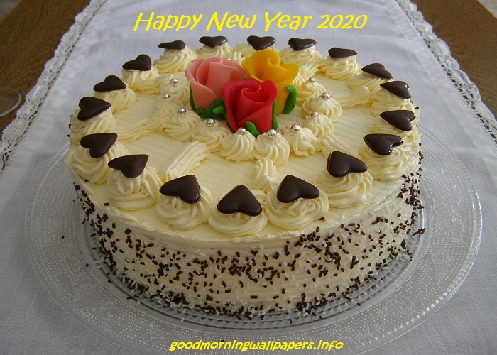 New Year Cake Designs