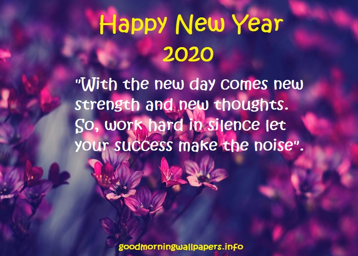 New Year Wallpapers with Message
