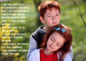 Poems from a Brother to a Sister