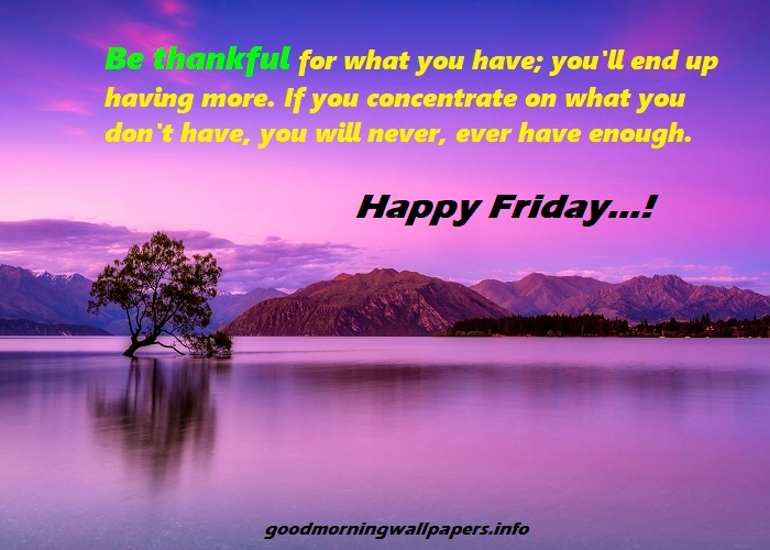 Happy Friday Quotes