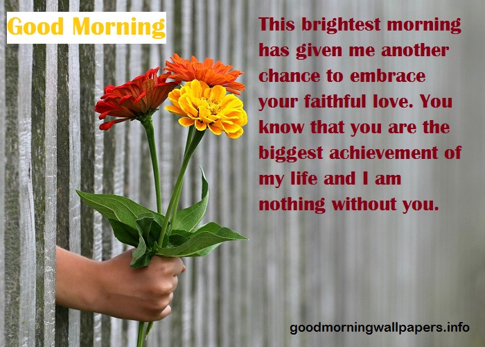 Good Morning Wishes to My Love