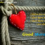 Good Morning Heart Images {HD Photo with Quotes Download}