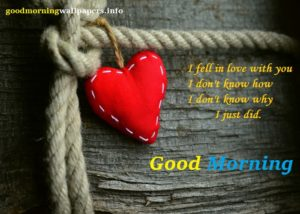 Morning Heart Image with Quotes