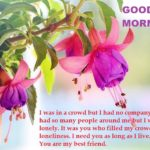 Good Morning Messages for Best Friend {Long, Short, Emotional, Inspirational Msgs}