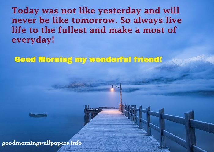 Hopeful Good Morning Message to Friend