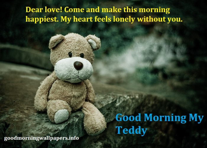 Love Good Morning Teddy Bear Images