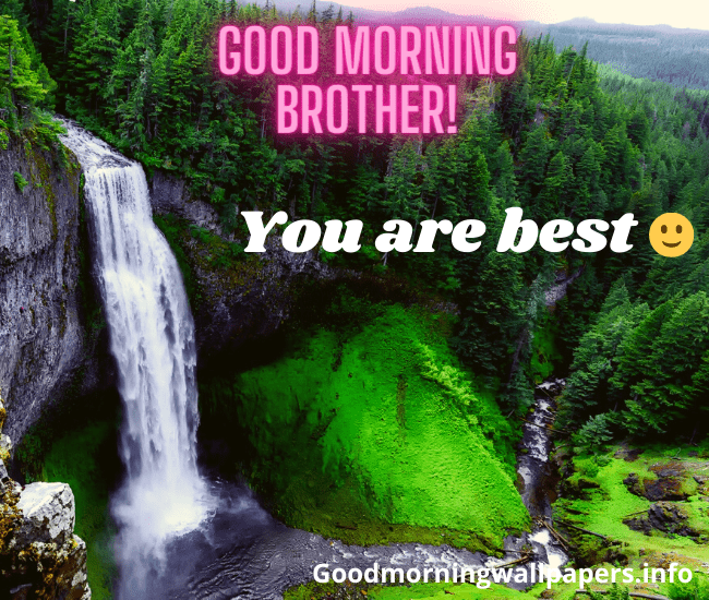 Good Morning Quotes for Younger Brother Love You Good Morning Brother Image