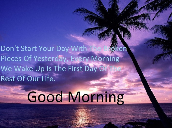Cute Good Morning Inspirational Message Image for him