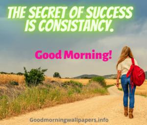 Good Morning Inspirational Success Quotes