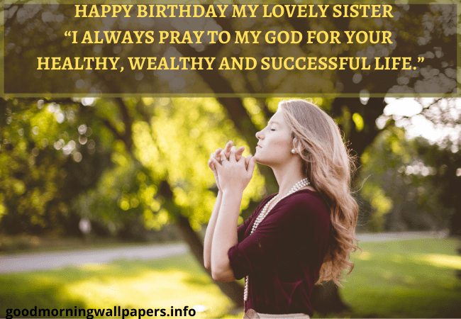 heart touching good morning message for my sister