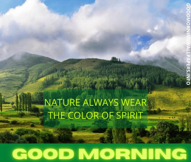 Hill Good Morning Mountain
