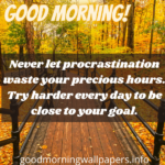 Positive Good Morning Message for Students from Teacher