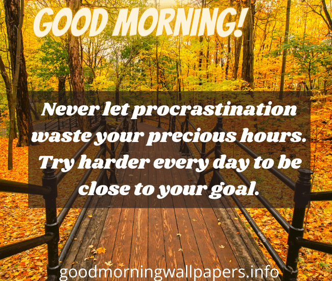 Good Morning Message for Students