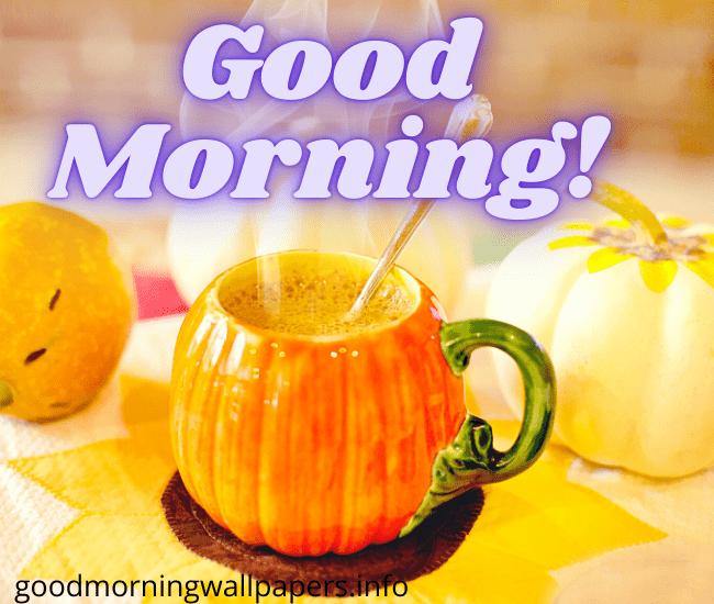 Good Morning Autumn Coffee