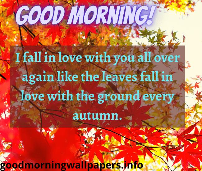 Good Morning Autumn Quotes